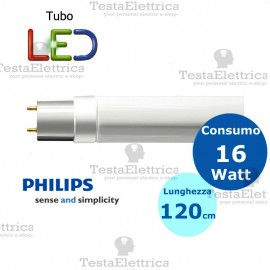 Tubo a led 120 cm 20 watt PVC Philips