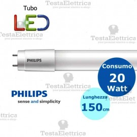 Tubo a led 150 cm 20 watt PVC Philips