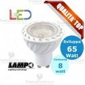 Lampada led GU10 220V 8 Watt MR16 Lampo