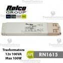Trasformatore elettromeccanico 12v 100VA Slim 100 Relco