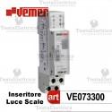Temporizzatore elettromeccanico luci scale Vemer