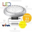 Lampada AR 111 a led  12V G53 11W   Wiva