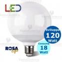 Lampadina a led Globo E27 18 Watt Rosalight