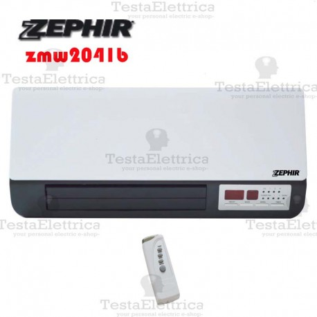 Zephir zmw2041b termoventilatore ceramico da parete 2000w - Termoconvettore a parete per bagno ...
