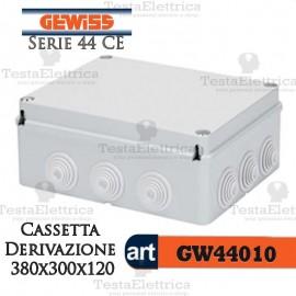Cassetta di derivazione da parete 38x30x12 cm Gewiss