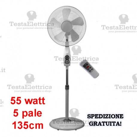 Ventilatore A Piantana Con Telecomando Timar