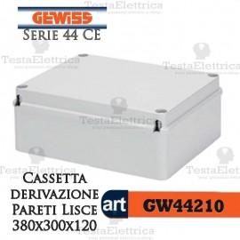 Cassetta di derivazione esterna pareti lisce  38x30x12 cm Gewiss