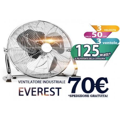 Ventilatore industriale acciaio Everest timar