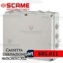 Cassetta di derivazione da parete  46x38x12 cm Scame