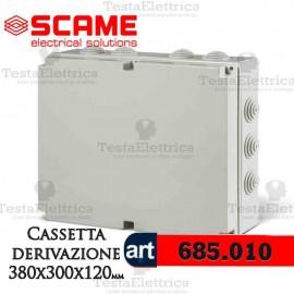 Cassetta di derivazione da parete  38x30x12 cm Scame