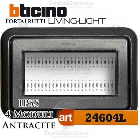 Coperchio 4 posti IP55 Idrobox LivingLight Bticino