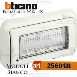Coperchio 4 posti IP55 Idrobox Màtix Bticino