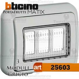 Coperchio 3 posti IP55 Idrobox Màtix Bticino