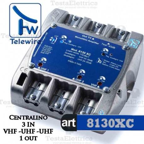 Centralino TV 3I / 1U 8130XC Telewire