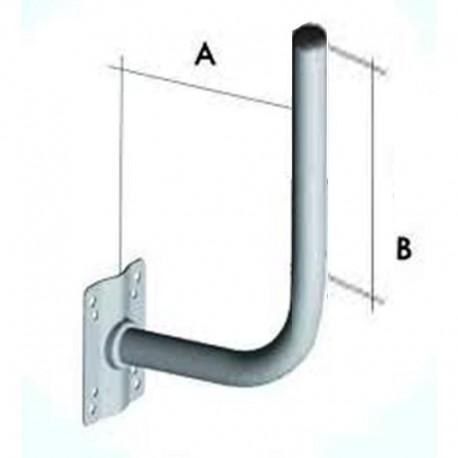 staffa  per parabola a L A 25 cm B 60 cm srt00013