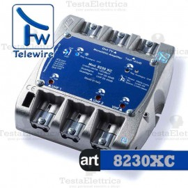 Centralino TV 3I / 1U 8230XC Telewire