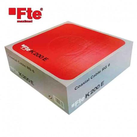 Cavo tv DTT/SAT 6.8mm 100 Mt FTE