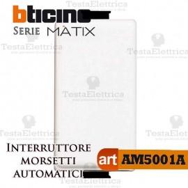 Interruttore 1P 16 AX  250 Va.c. morsetti automatici Bticino Matix