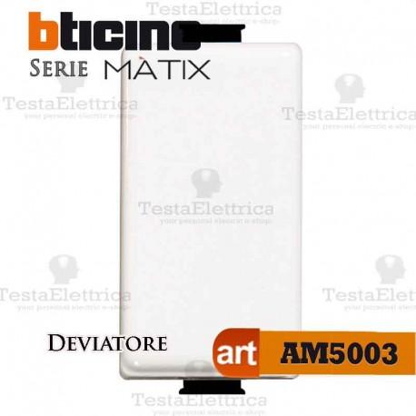 Deviatore 1P 16 AX  250 Va.c. Bticino Matix