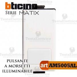 Pulsante 1P 16 AX 250 Va.c. con morsetti automatici Bticino Matix