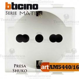 Presa Shuko 2P+T 10/16A Bticino Matix