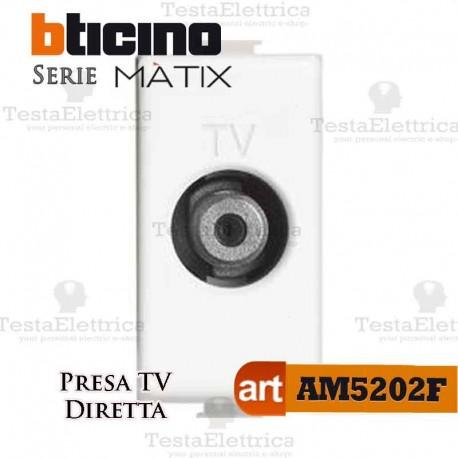 Presa TV-SAT diretta innesto F Bticino Matix