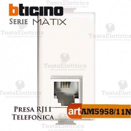 Presa Telefonica RJ11 Bticino Matix