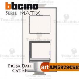Presa Dati RJ45 Cat. 5E Bticino Matix
