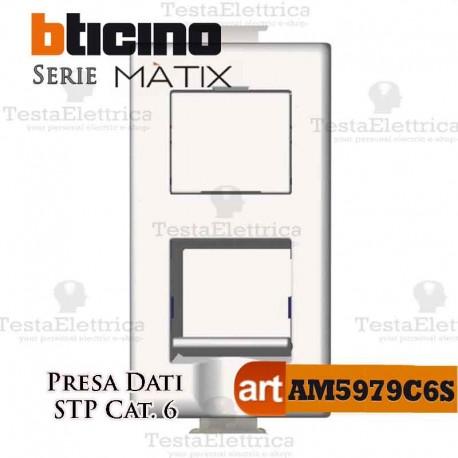 Presa Dati RJ45 Cat. 6 STP Bticino Matix