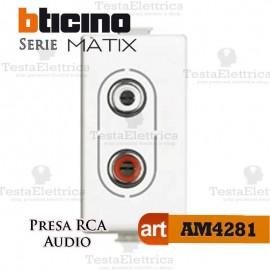 Presa RCA Bticino Matix