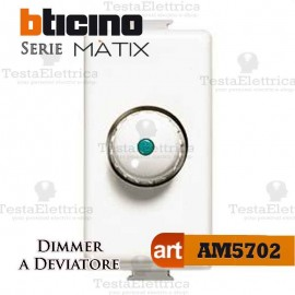 Dimmer deviatore a manopola Bticino Matix