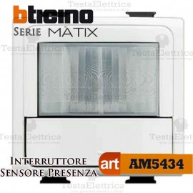 Green switch interruttore rilevatore di presenza Bticino Matix