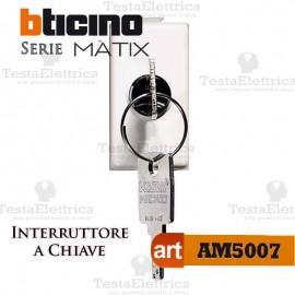 Interruttore 2P con chiave Bticino Matix