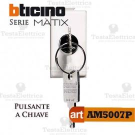 Pulsante 1P a chiave Bticino Matix