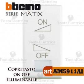 Copritasto ON OFF di regolazione Bticino Matix