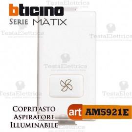 Copritasto aspiratore illuminabile Bticino Matix