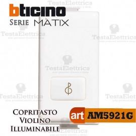 Copritasto  Musica illuminabile Bticino Matix