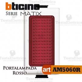 Portalampada Rosso Illuminabile Bticino Matix