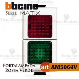 Portalampada Doppio Colore Illuminabile Bticino Matix