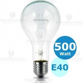 Lampada a incandescenza goliath goccia 500W E40