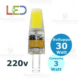 Lampada led G4 3W 220V