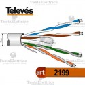 Cavo ethernet Cat. 6 Televes