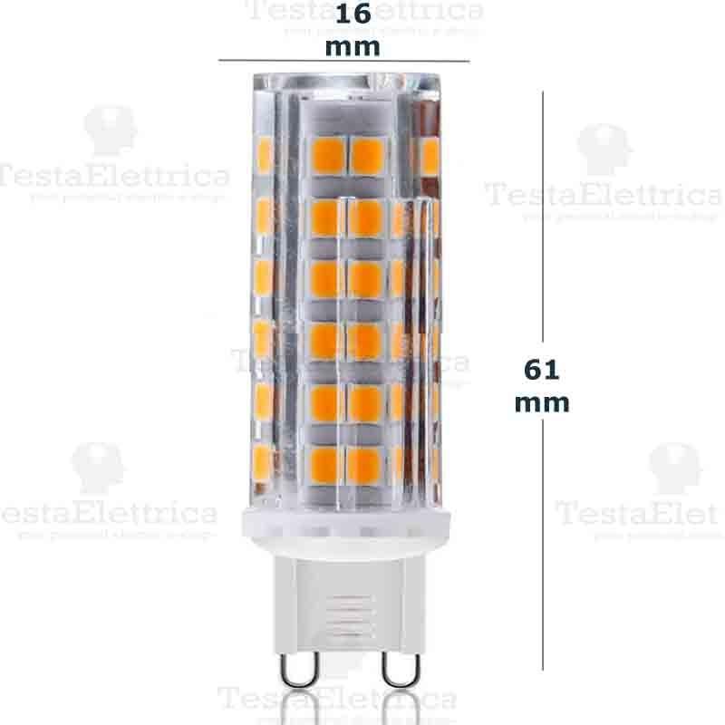 Lampada led g9 220v 6w for Lampade a led 220v