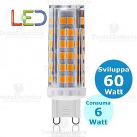 Lampada led G9 6W 220V