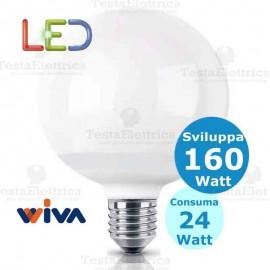 Lampadina a led Globo E27 24 Watt Wiva