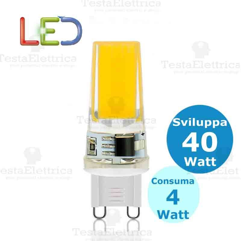 Lampada led g9 220v 4 watt for Lampade a led 220v
