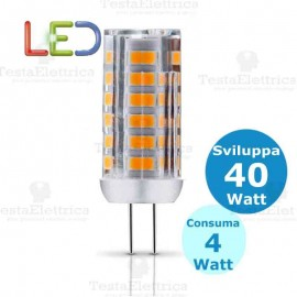 Lampadina corn led G4 4W 12V