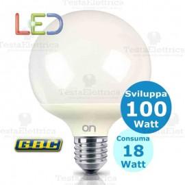 Lampadina a led Globo E27 18 Watt GBC