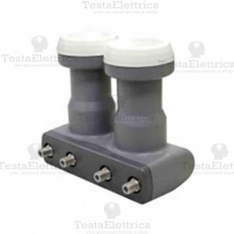 Convertitore LNB MONOBLOCCO TWIN smart eletronick 2 uscite