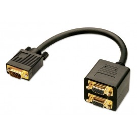 VGA Splitter con cavo 1 in 2 out Lindy